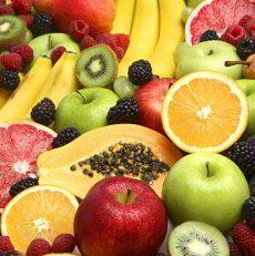 Owoce od których tyjemy